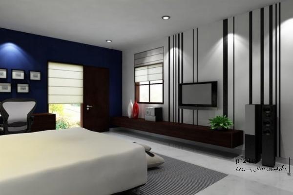 نقش دیوار اتاق کوچک